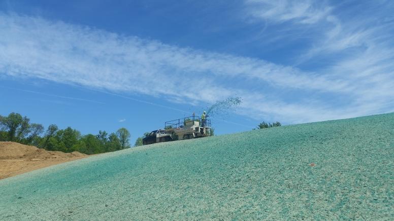 Hydro Seeding - Erosion Control Ohio